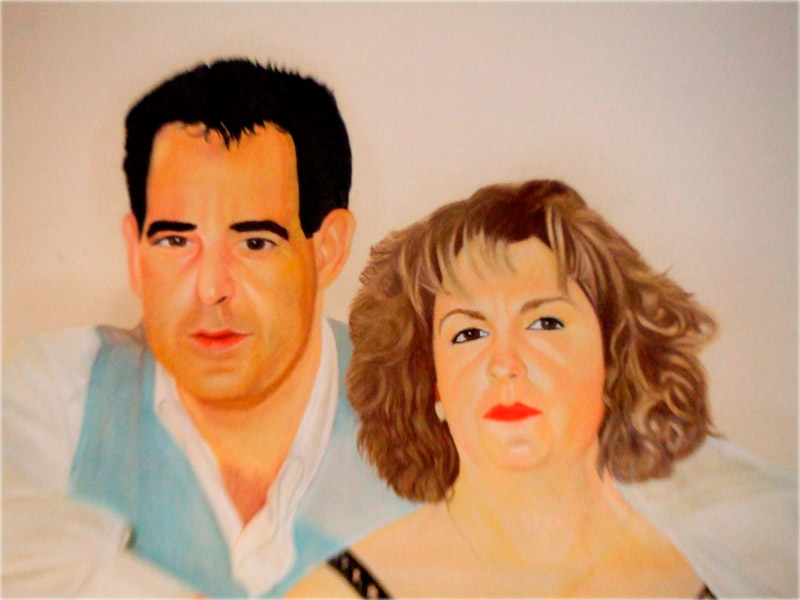 pintura retratos